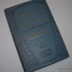 Libros antiguos: INTERPRETRACION SINTETICA DEL ESPIRITISMO.....GUSTAVO GELEY.. Lote 48005730