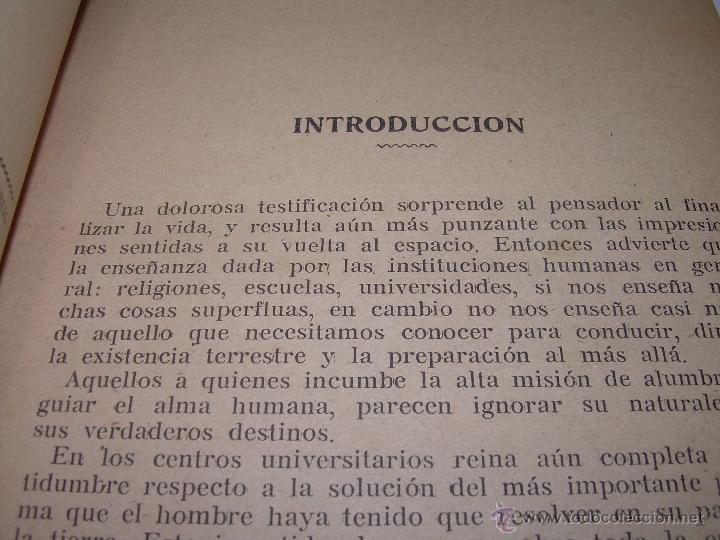 Libros antiguos: EL PROBLEMA DEL SER Y DEL DESTINO....LEON DENIS. - Foto 5 - 48517210
