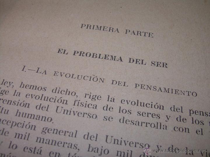 Libros antiguos: EL PROBLEMA DEL SER Y DEL DESTINO....LEON DENIS. - Foto 6 - 48517210