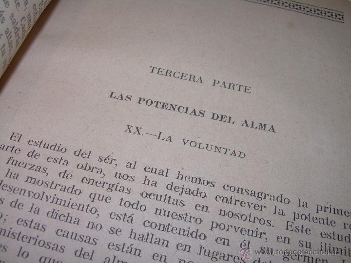 Libros antiguos: EL PROBLEMA DEL SER Y DEL DESTINO....LEON DENIS. - Foto 11 - 48517210