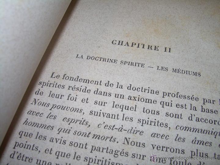 Libros antiguos: LIBRO TAPAS DE PIEL.......LE SPIRITISME ..( FAKIRISME OCCIDENTAL)...AÑO 1.887...CON GRABADOS Y FOTOS - Foto 6 - 48560301