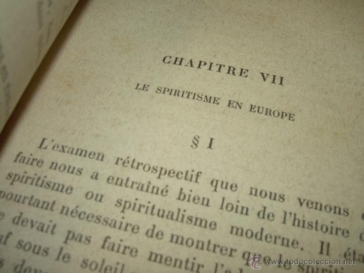 Libros antiguos: LIBRO TAPAS DE PIEL.......LE SPIRITISME ..( FAKIRISME OCCIDENTAL)...AÑO 1.887...CON GRABADOS Y FOTOS - Foto 11 - 48560301