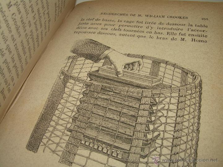 Libros antiguos: LIBRO TAPAS DE PIEL.......LE SPIRITISME ..( FAKIRISME OCCIDENTAL)...AÑO 1.887...CON GRABADOS Y FOTOS - Foto 12 - 48560301