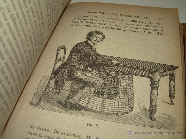 Libros antiguos: LIBRO TAPAS DE PIEL.......LE SPIRITISME ..( FAKIRISME OCCIDENTAL)...AÑO 1.887...CON GRABADOS Y FOTOS - Foto 13 - 48560301
