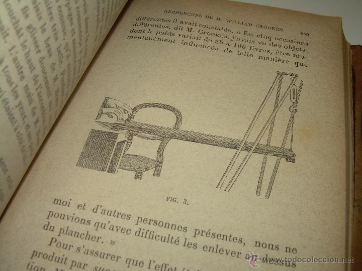 Libros antiguos: LIBRO TAPAS DE PIEL.......LE SPIRITISME ..( FAKIRISME OCCIDENTAL)...AÑO 1.887...CON GRABADOS Y FOTOS - Foto 14 - 48560301