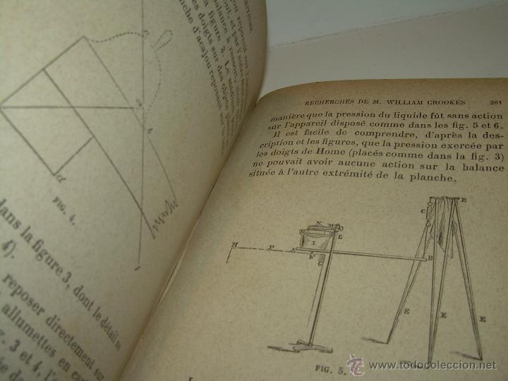 Libros antiguos: LIBRO TAPAS DE PIEL.......LE SPIRITISME ..( FAKIRISME OCCIDENTAL)...AÑO 1.887...CON GRABADOS Y FOTOS - Foto 15 - 48560301