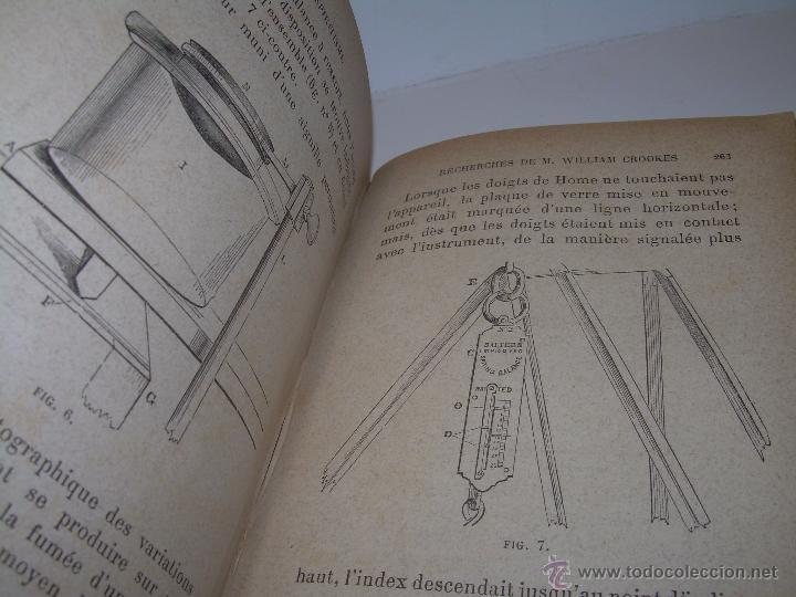 Libros antiguos: LIBRO TAPAS DE PIEL.......LE SPIRITISME ..( FAKIRISME OCCIDENTAL)...AÑO 1.887...CON GRABADOS Y FOTOS - Foto 16 - 48560301