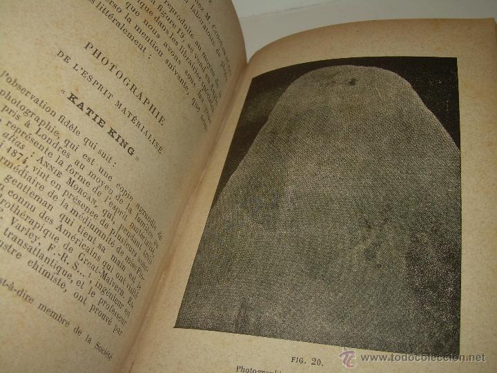 Libros antiguos: LIBRO TAPAS DE PIEL.......LE SPIRITISME ..( FAKIRISME OCCIDENTAL)...AÑO 1.887...CON GRABADOS Y FOTOS - Foto 17 - 48560301