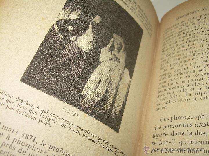 Libros antiguos: LIBRO TAPAS DE PIEL.......LE SPIRITISME ..( FAKIRISME OCCIDENTAL)...AÑO 1.887...CON GRABADOS Y FOTOS - Foto 18 - 48560301
