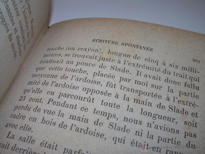 Libros antiguos: LIBRO TAPAS DE PIEL.......LE SPIRITISME ..( FAKIRISME OCCIDENTAL)...AÑO 1.887...CON GRABADOS Y FOTOS - Foto 21 - 48560301