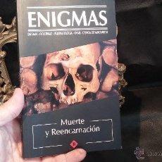 Libros antiguos: ENIGMAS, REENCARNACIÓN Y MUERTE. Lote 49163585