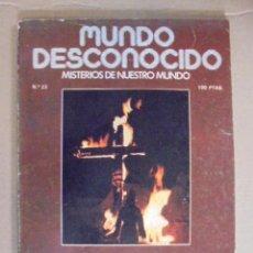 Libros antiguos: MUNDO DESCONOCIDO Nº 23 - KU KLUX KLAN - INTERPOL Y LOS NAZIS - EXTRAHUMANOS ASESINAN NIÑOS. Lote 49293181