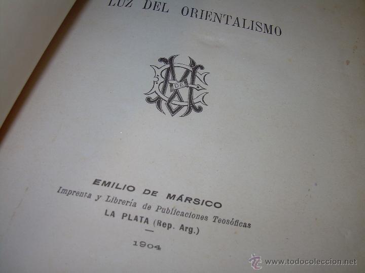 Libros antiguos: EL MISTERIO DE LA VIDA.......AÑO..1.904....CON FOTOGRAFIAS Y GRABADOS. - Foto 5 - 49733062