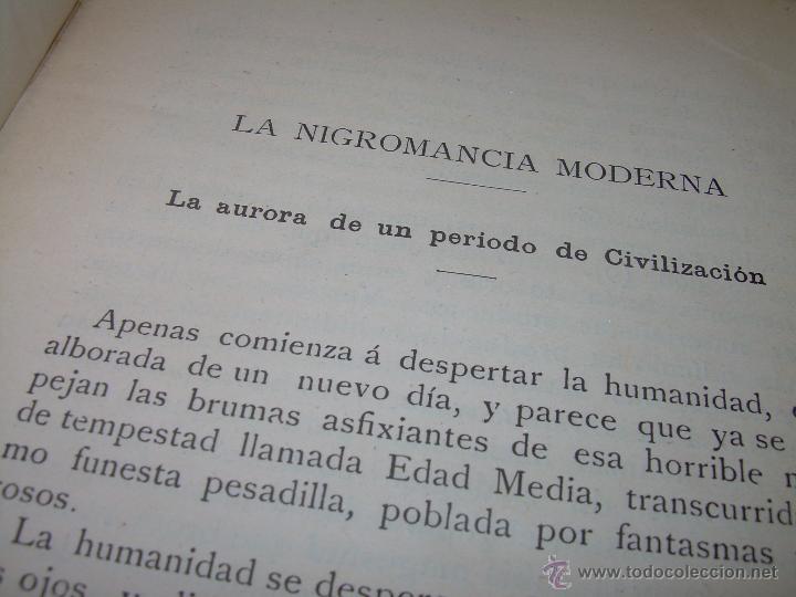 Libros antiguos: EL MISTERIO DE LA VIDA.......AÑO..1.904....CON FOTOGRAFIAS Y GRABADOS. - Foto 7 - 49733062