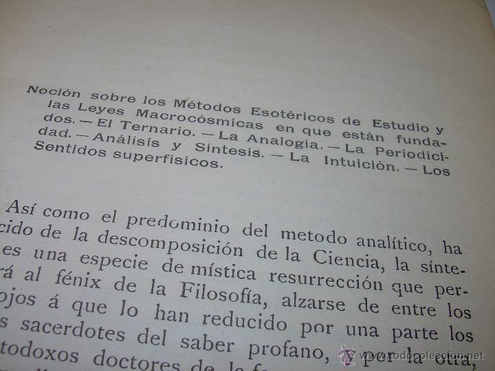 Libros antiguos: EL MISTERIO DE LA VIDA.......AÑO..1.904....CON FOTOGRAFIAS Y GRABADOS. - Foto 8 - 49733062
