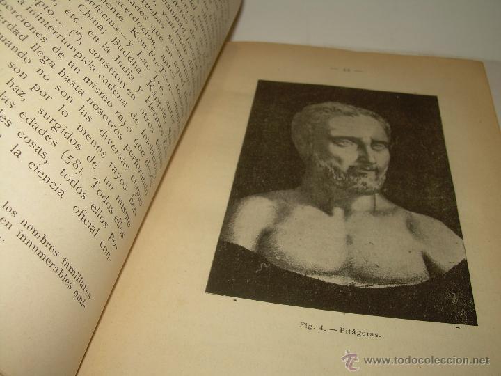 Libros antiguos: EL MISTERIO DE LA VIDA.......AÑO..1.904....CON FOTOGRAFIAS Y GRABADOS. - Foto 10 - 49733062