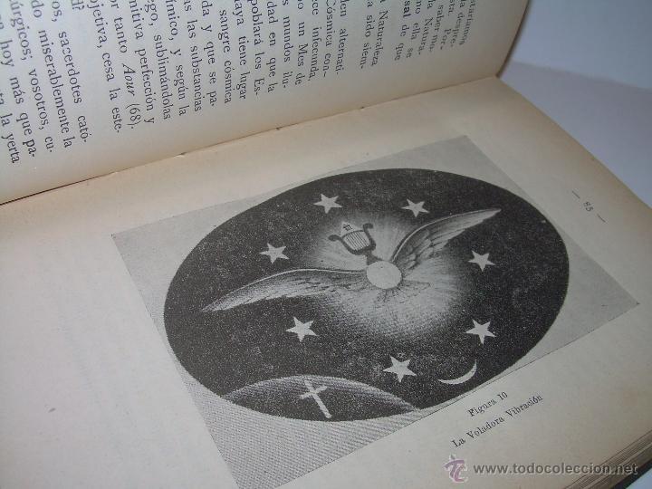 Libros antiguos: EL MISTERIO DE LA VIDA.......AÑO..1.904....CON FOTOGRAFIAS Y GRABADOS. - Foto 13 - 49733062