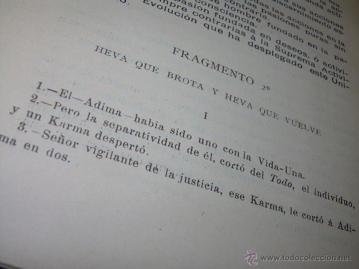 Libros antiguos: EL MISTERIO DE LA VIDA.......AÑO..1.904....CON FOTOGRAFIAS Y GRABADOS. - Foto 17 - 49733062
