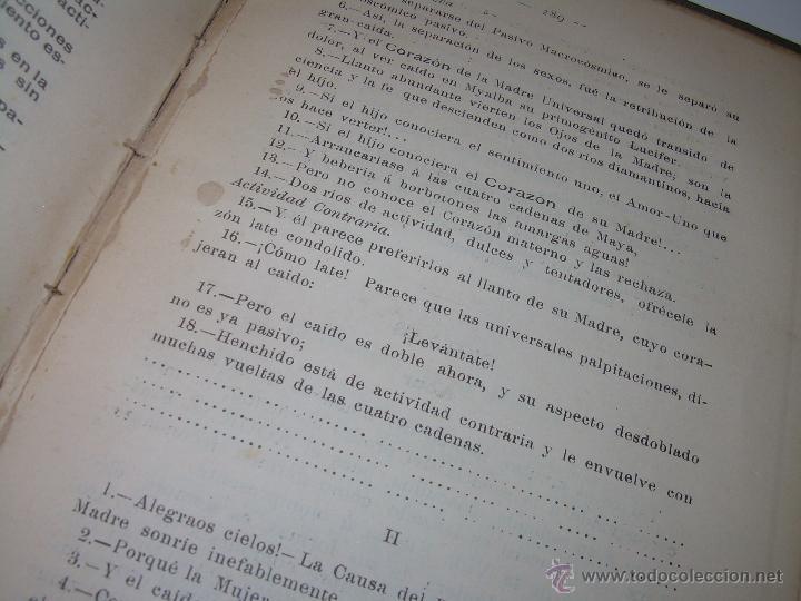 Libros antiguos: EL MISTERIO DE LA VIDA.......AÑO..1.904....CON FOTOGRAFIAS Y GRABADOS. - Foto 18 - 49733062