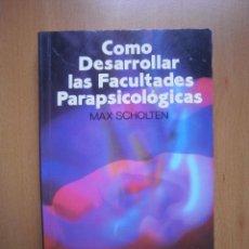 Alte Bücher - Como desarrollar las facultades parapsicológicas. - 49650541