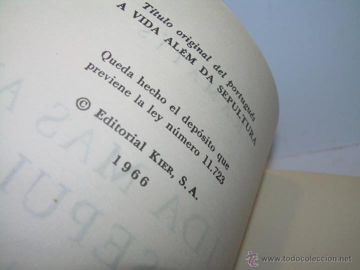 Libros antiguos: LIBRO..LA VIDA MAS ALLA DE LA SEPULTURA.....RAMATIS - Foto 5 - 49769487