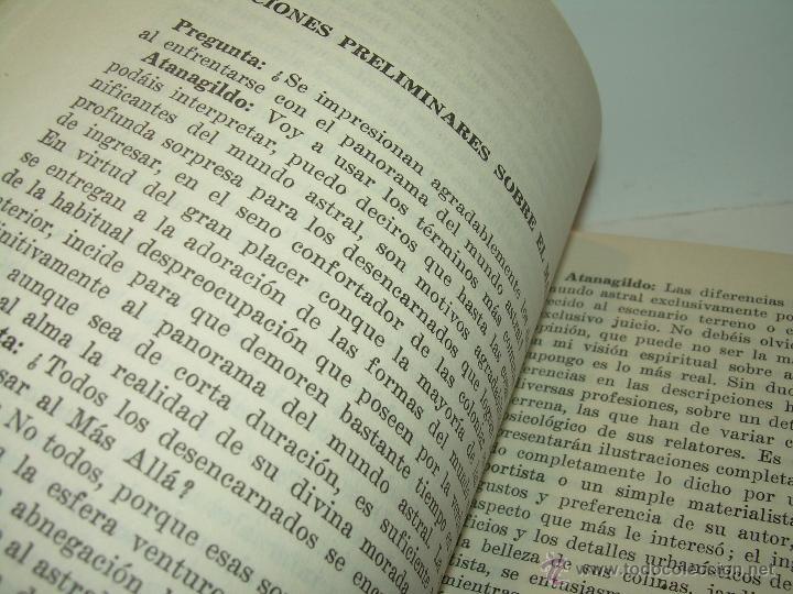 Libros antiguos: LIBRO..LA VIDA MAS ALLA DE LA SEPULTURA.....RAMATIS - Foto 8 - 49769487