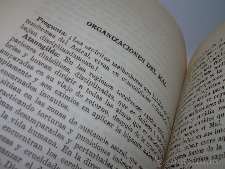 Libros antiguos: LIBRO..LA VIDA MAS ALLA DE LA SEPULTURA.....RAMATIS - Foto 9 - 49769487