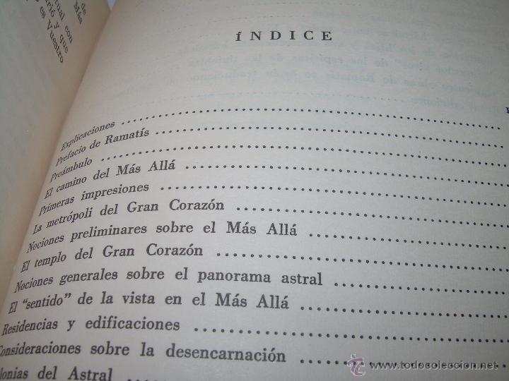 Libros antiguos: LIBRO..LA VIDA MAS ALLA DE LA SEPULTURA.....RAMATIS - Foto 10 - 49769487