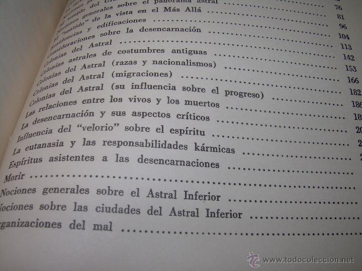 Libros antiguos: LIBRO..LA VIDA MAS ALLA DE LA SEPULTURA.....RAMATIS - Foto 11 - 49769487