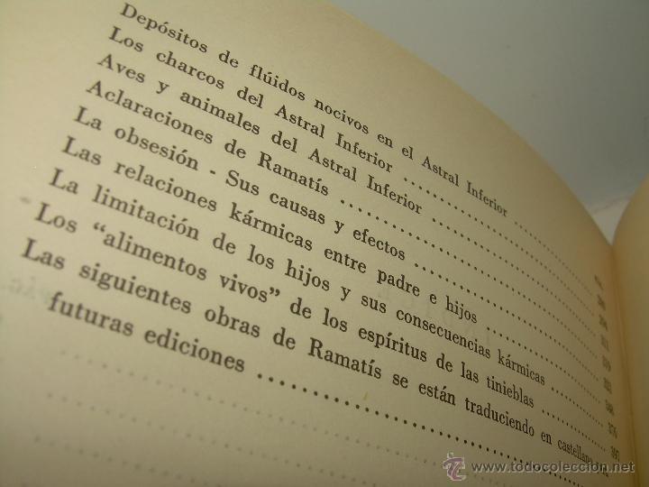 Libros antiguos: LIBRO..LA VIDA MAS ALLA DE LA SEPULTURA.....RAMATIS - Foto 12 - 49769487