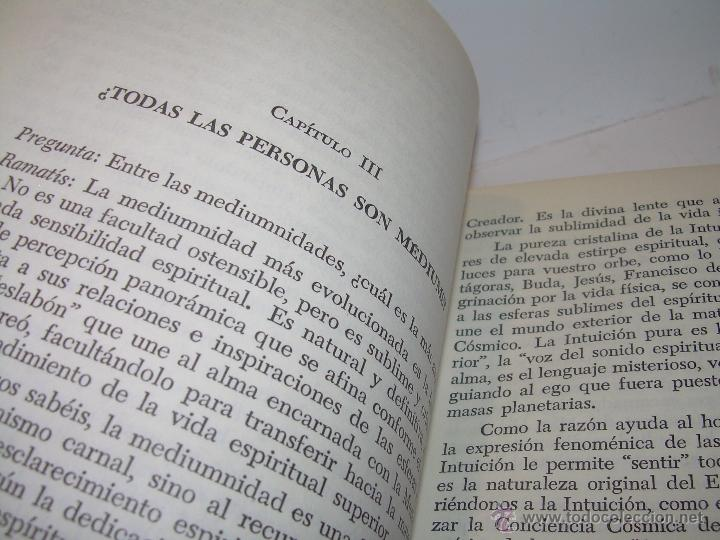 Libros antiguos: LIBRO.....MEDIUNISMO.....RAMATIS - Foto 7 - 49769556