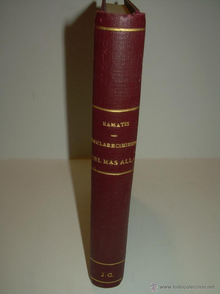Libros antiguos: LIBRO....ESCLARECIMIENTOS DEL MAS ALLA....RAMATIS - Foto 3 - 49769626