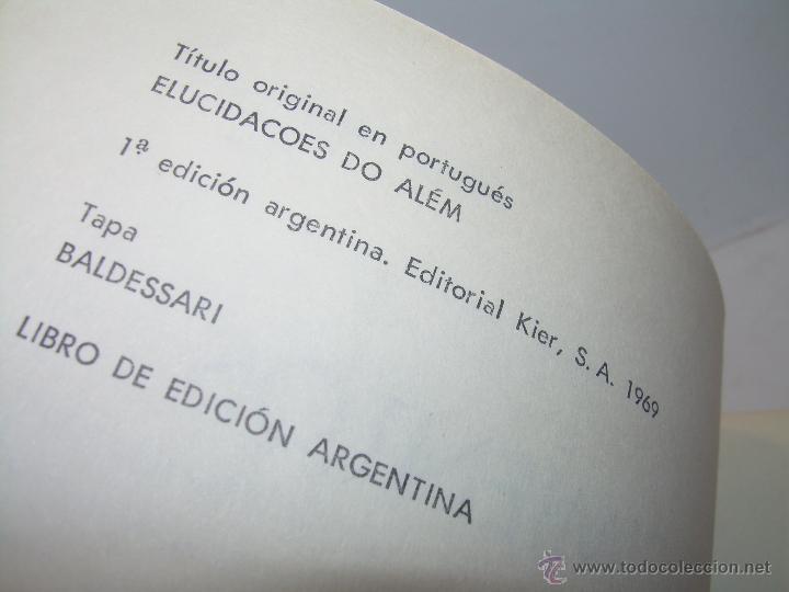 Libros antiguos: LIBRO....ESCLARECIMIENTOS DEL MAS ALLA....RAMATIS - Foto 5 - 49769626