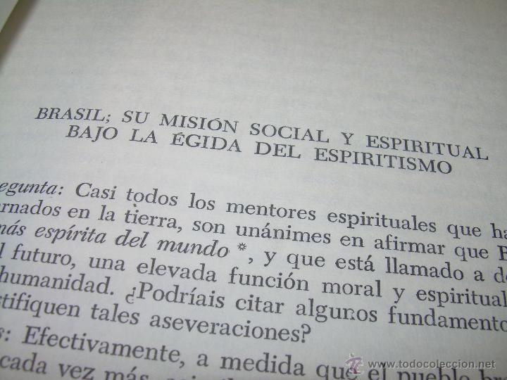Libros antiguos: LIBRO....ESCLARECIMIENTOS DEL MAS ALLA....RAMATIS - Foto 6 - 49769626