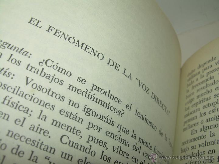 Libros antiguos: LIBRO....ESCLARECIMIENTOS DEL MAS ALLA....RAMATIS - Foto 7 - 49769626