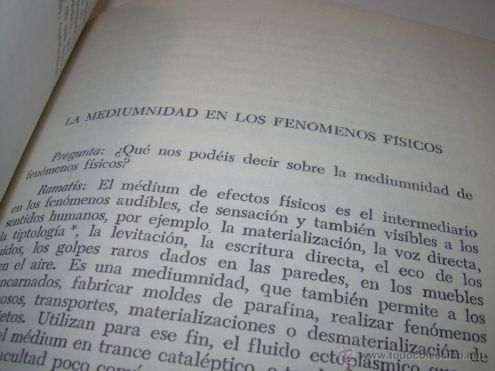 Libros antiguos: LIBRO....ESCLARECIMIENTOS DEL MAS ALLA....RAMATIS - Foto 8 - 49769626