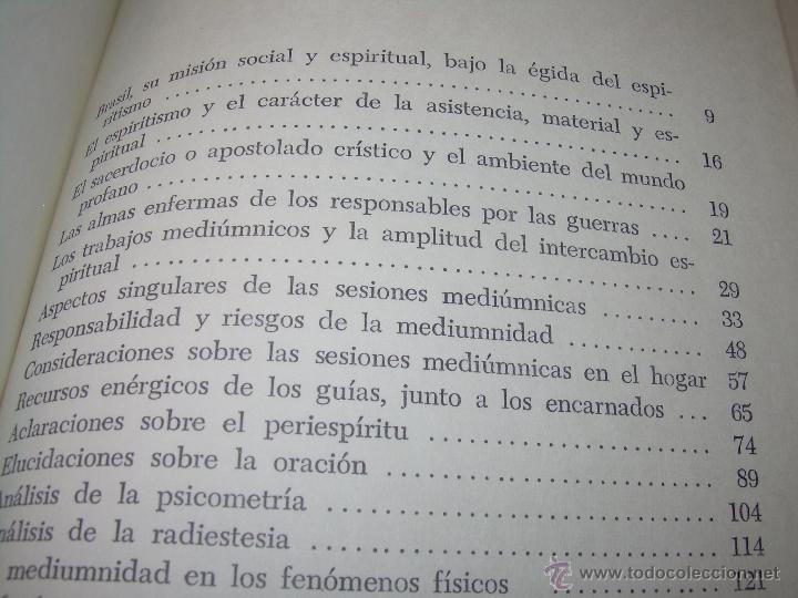 Libros antiguos: LIBRO....ESCLARECIMIENTOS DEL MAS ALLA....RAMATIS - Foto 12 - 49769626