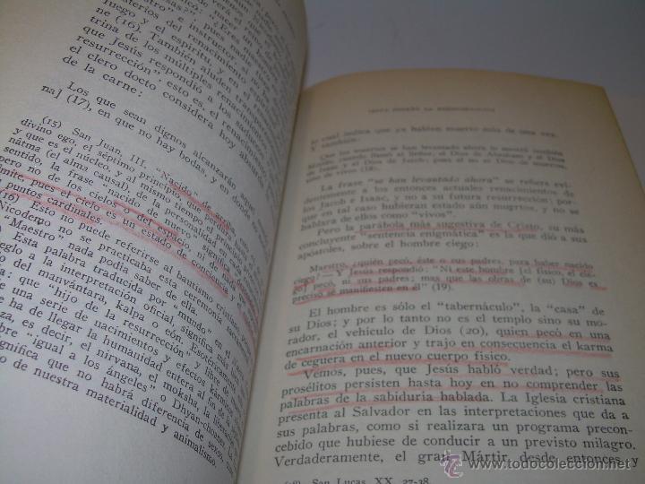Libros antiguos: LIBRO...DOCTRINA SECRETA..CIENCIA, RELIGION Y FILOSOFIA. - Foto 14 - 49774892