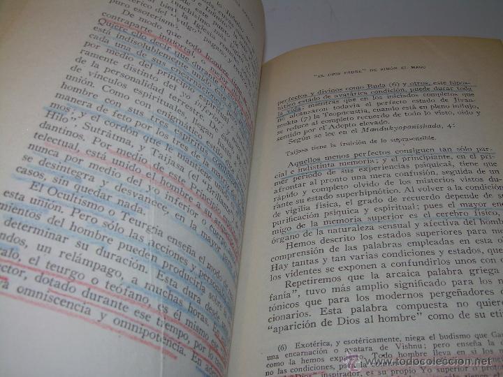 Libros antiguos: LIBRO...DOCTRINA SECRETA..CIENCIA, RELIGION Y FILOSOFIA. - Foto 15 - 49774892
