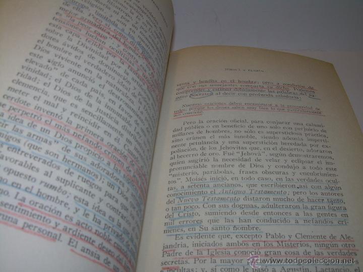 Libros antiguos: LIBRO...DOCTRINA SECRETA..CIENCIA, RELIGION Y FILOSOFIA. - Foto 16 - 49774892
