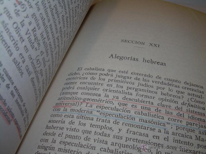 Libros antiguos: LIBRO...DOCTRINA SECRETA..CIENCIA, RELIGION Y FILOSOFIA. - Foto 17 - 49774892