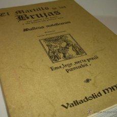 Libros antiguos: EL MARTILLO DE LAS BRUJAS.. Lote 50725315