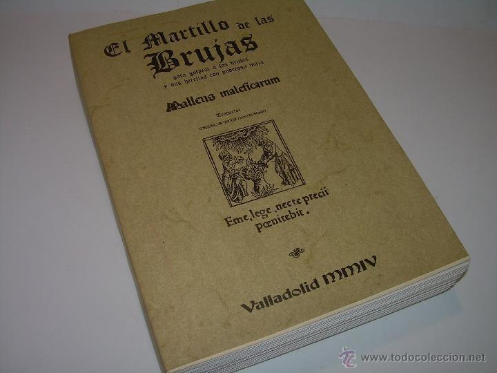 Libros antiguos: EL MARTILLO DE LAS BRUJAS. - Foto 2 - 50725315