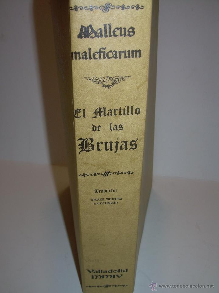Libros antiguos: EL MARTILLO DE LAS BRUJAS. - Foto 3 - 50725315