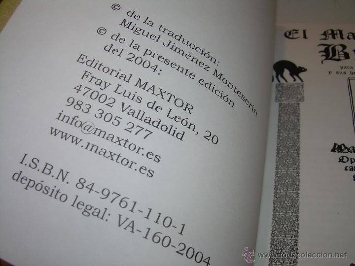Libros antiguos: EL MARTILLO DE LAS BRUJAS. - Foto 5 - 50725315
