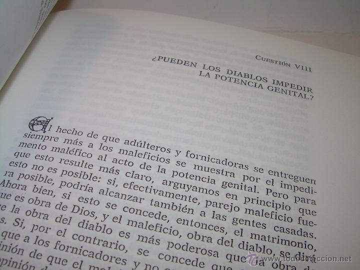 Libros antiguos: EL MARTILLO DE LAS BRUJAS. - Foto 6 - 50725315