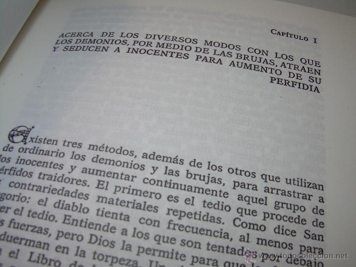 Libros antiguos: EL MARTILLO DE LAS BRUJAS. - Foto 8 - 50725315