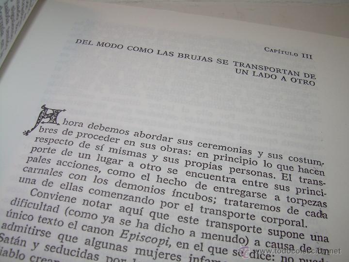 Libros antiguos: EL MARTILLO DE LAS BRUJAS. - Foto 9 - 50725315