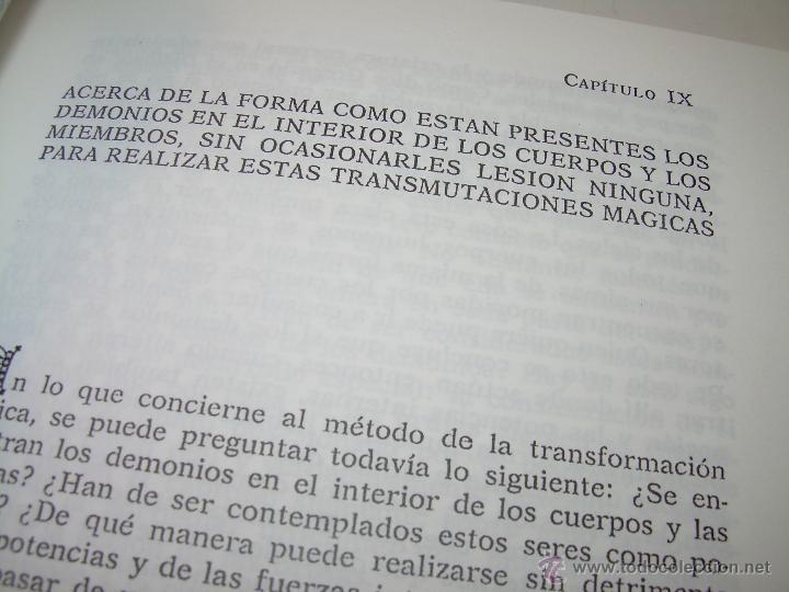 Libros antiguos: EL MARTILLO DE LAS BRUJAS. - Foto 10 - 50725315
