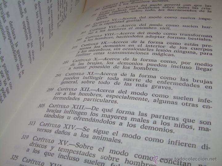 Libros antiguos: EL MARTILLO DE LAS BRUJAS. - Foto 14 - 50725315